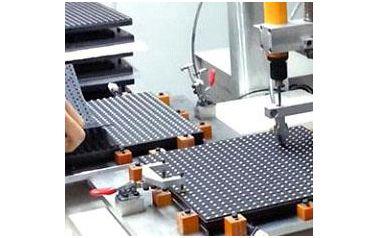 LED模组螺丝机案例