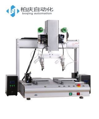 Double head double Y automatic soldering machine